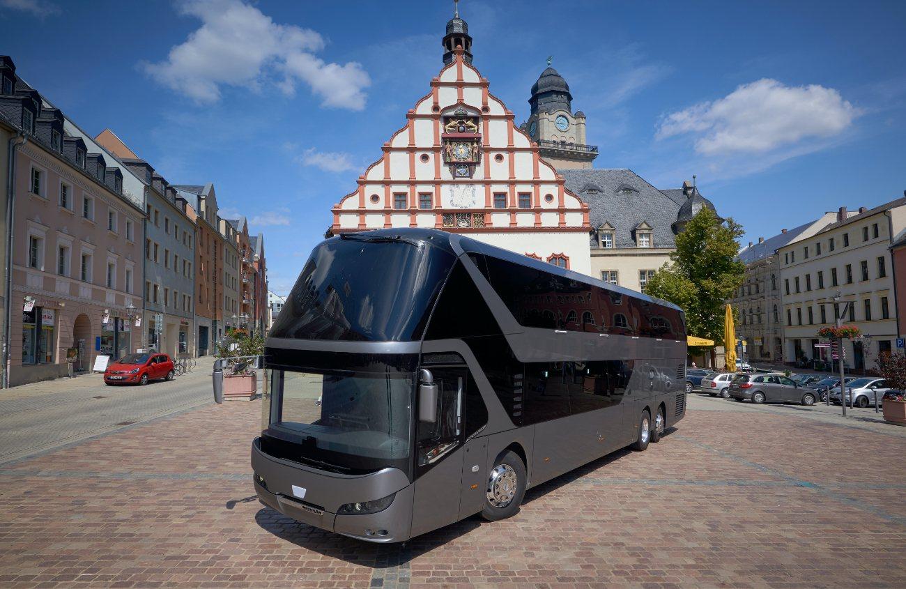 Bus mit Bett