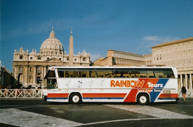Rainbow Thies Bus Europareisen